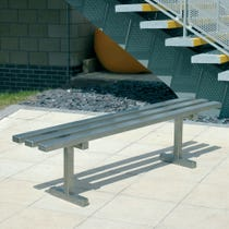 Solway Bench - Stainless Steel