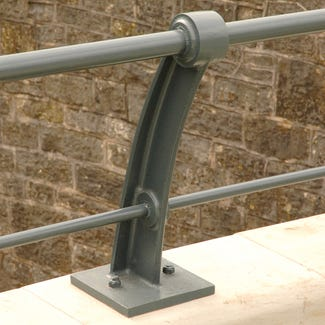 Quayside Curved Ductile Iron 2 Rail