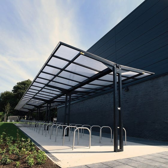 Coventry Gullwing Cycle Shelter