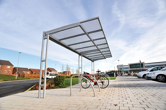 Coventry Cantilever Cycle Shelter