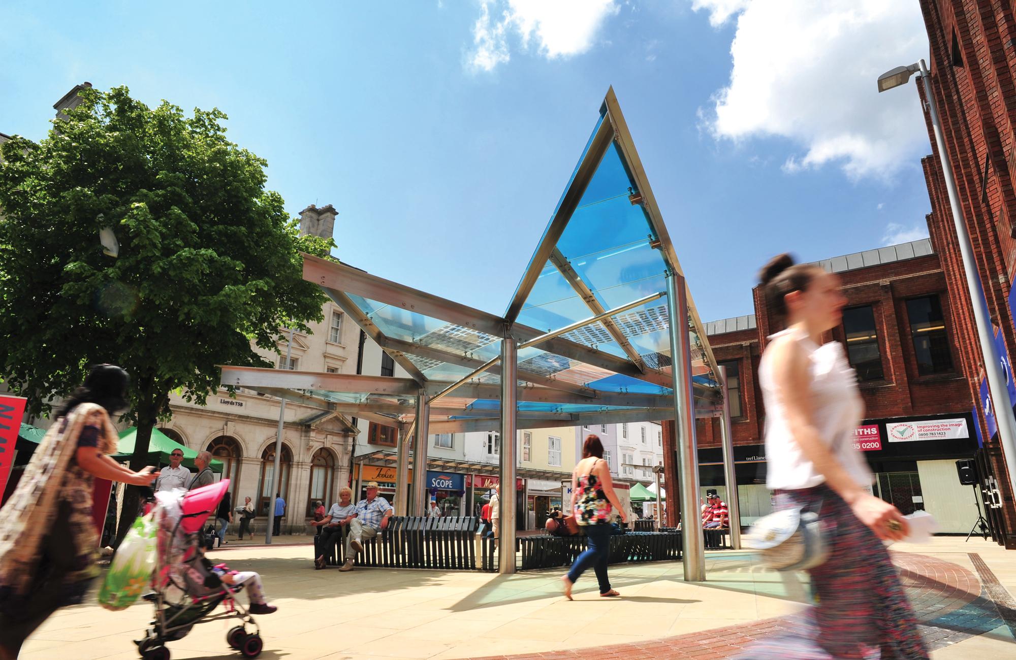 Llanelli Showcase Canopy
