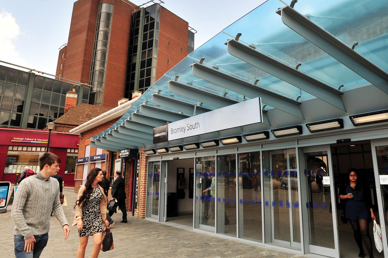 Bromley Entrance Canopy