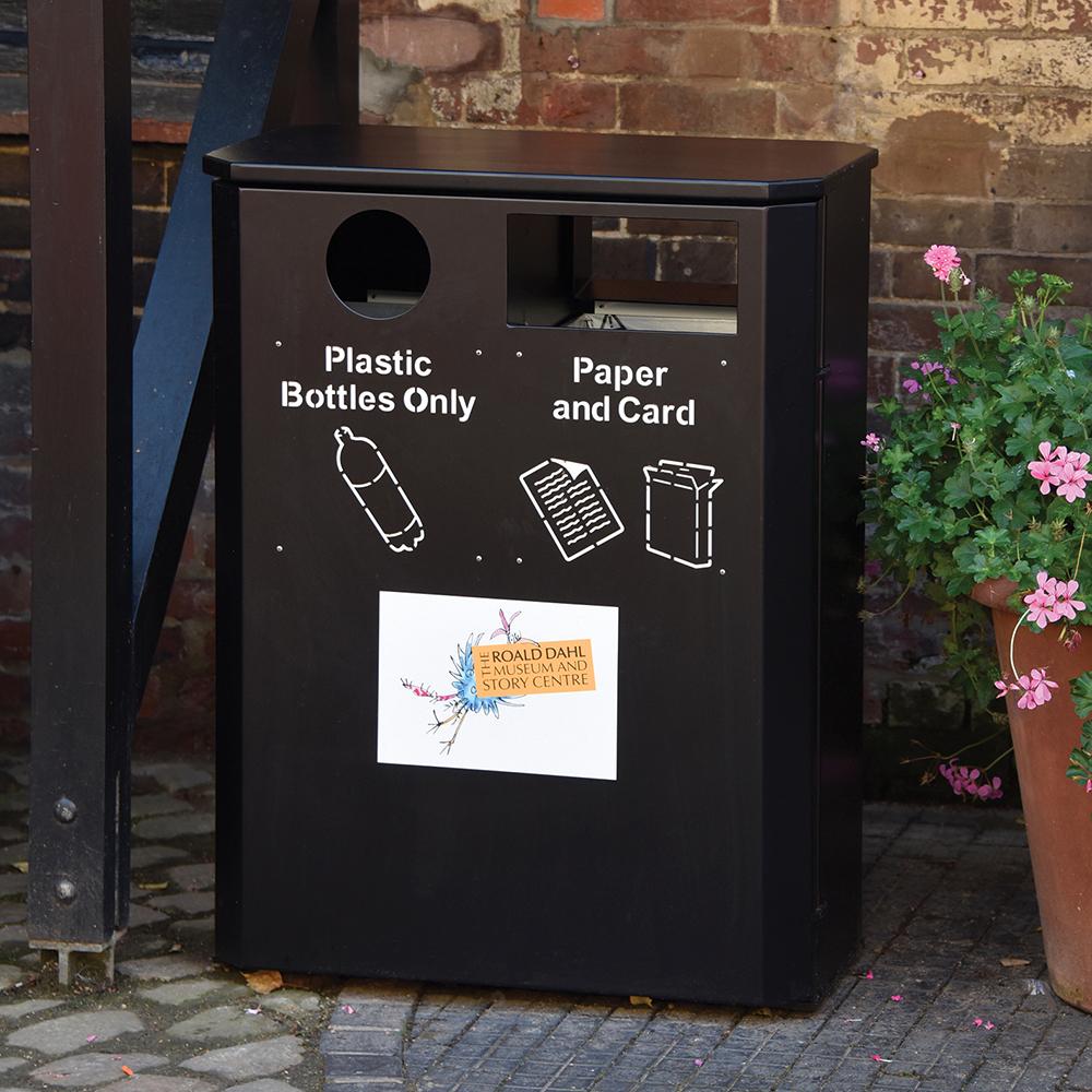 Derby Double Slimline Recycling Bin