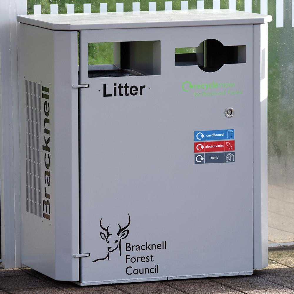Derby Double Recycling Bin