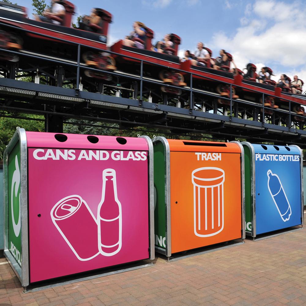 Trojan Recycling Bin