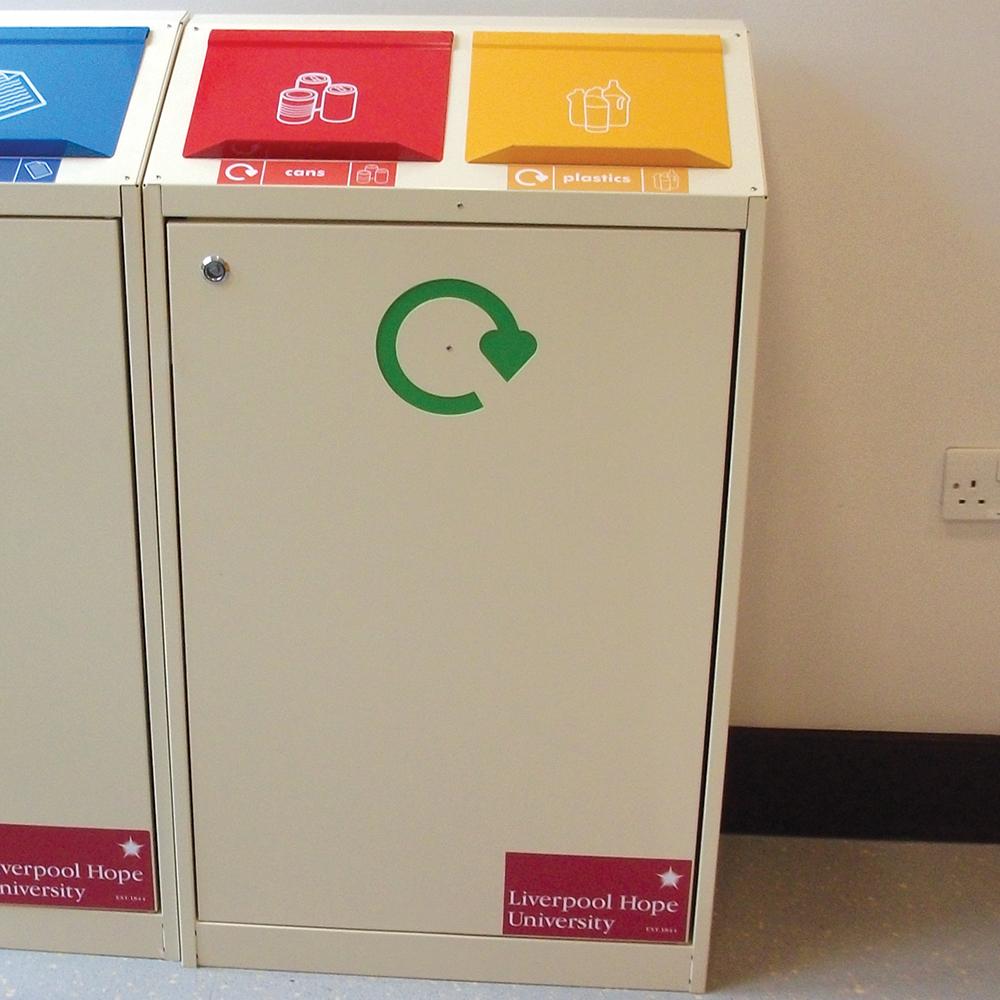 Daventry Internal Recycling Bin - Double