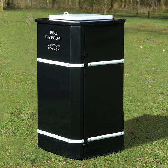 Derby BBQ Secure and Fire Resistant Waste Bin
