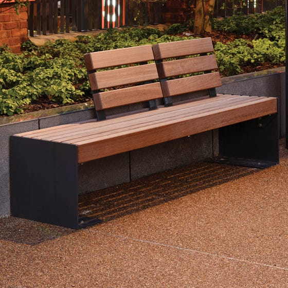 Ingleby Seat with 2 Back Rests