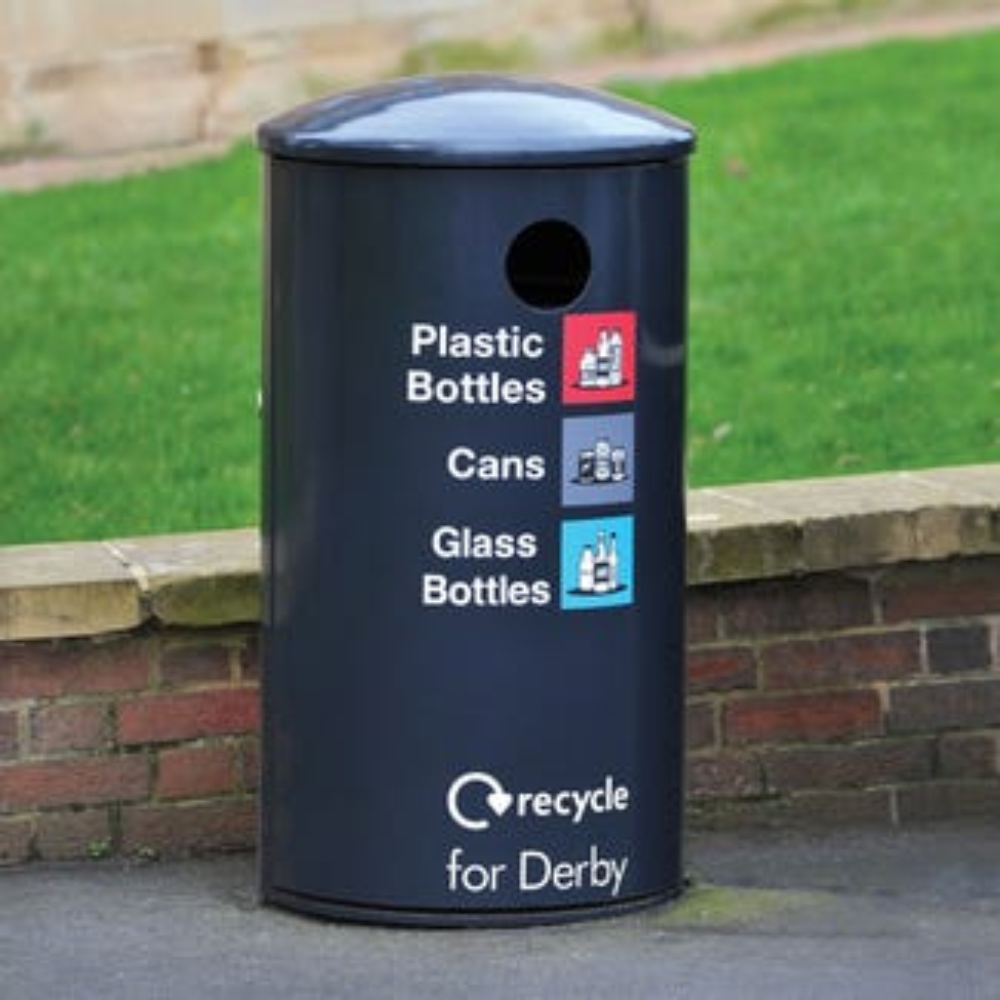 Derby Round Recycling Bin