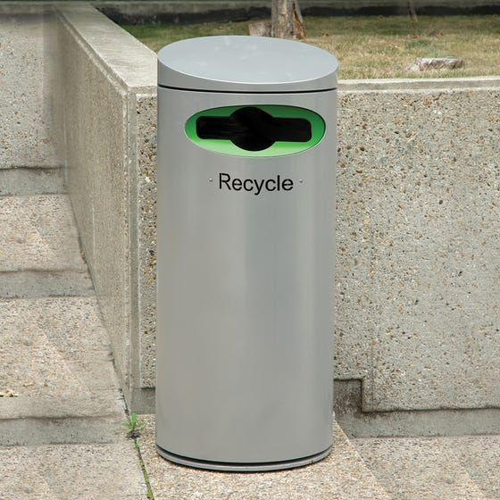 Derby Olympus A Steel Recycling Bin
