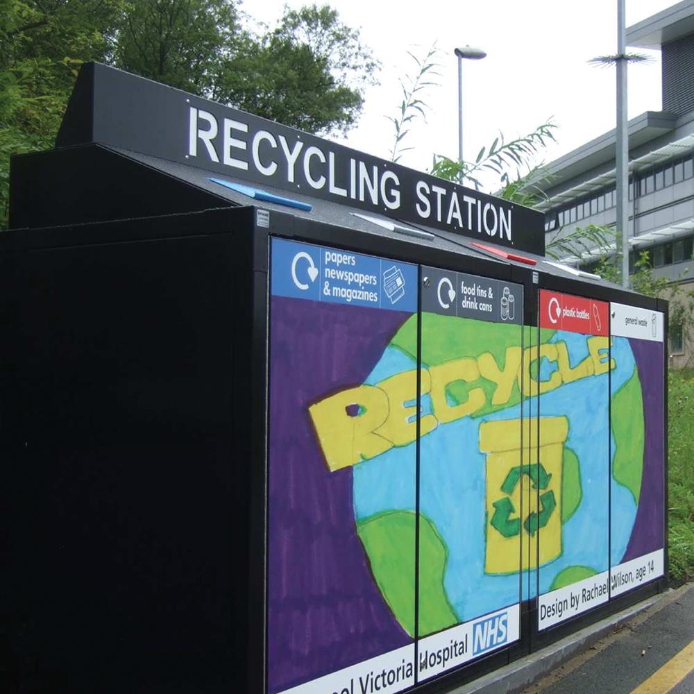 SEPR8™ Wheelie Bin Recycling Centre
