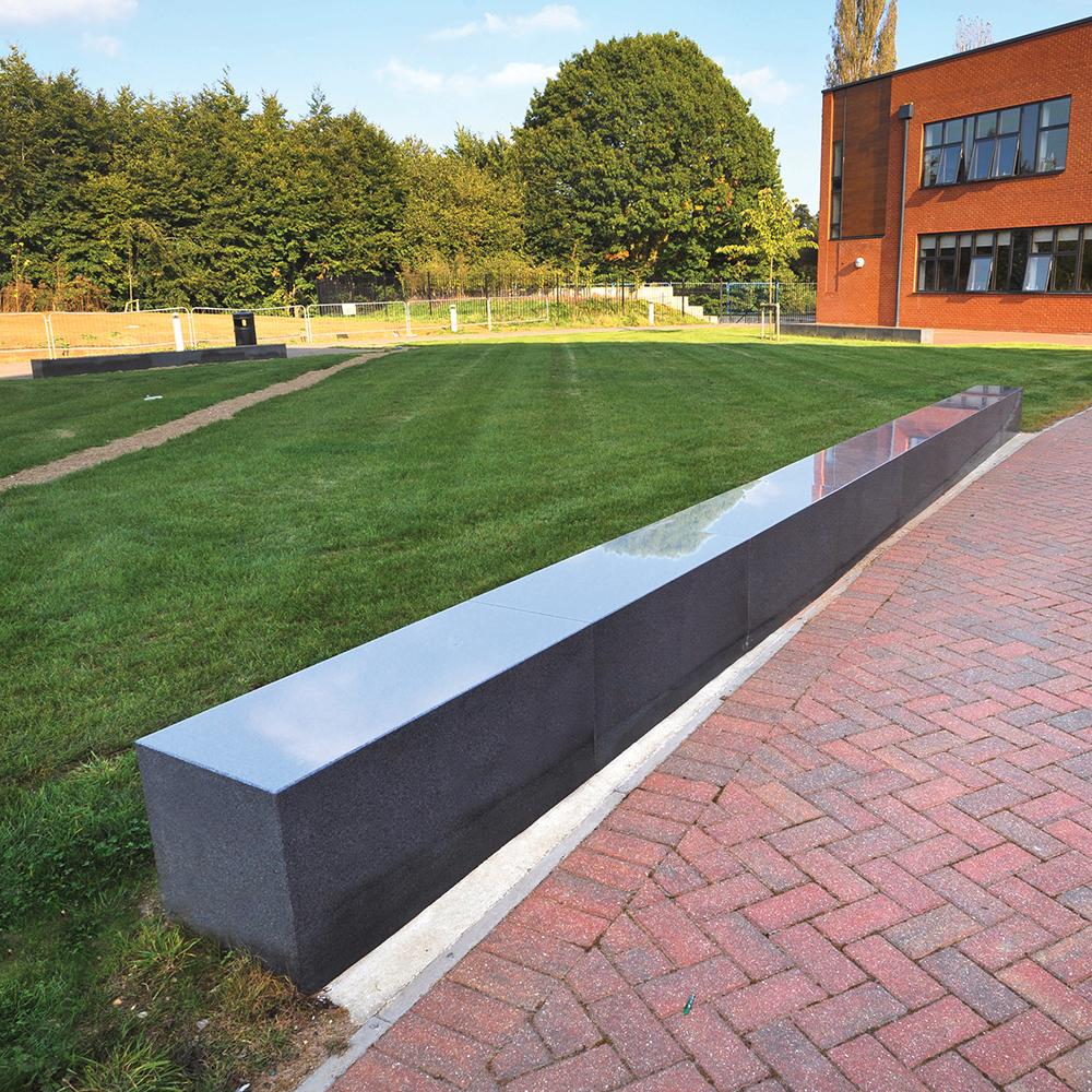 Easebourne Granite Bench