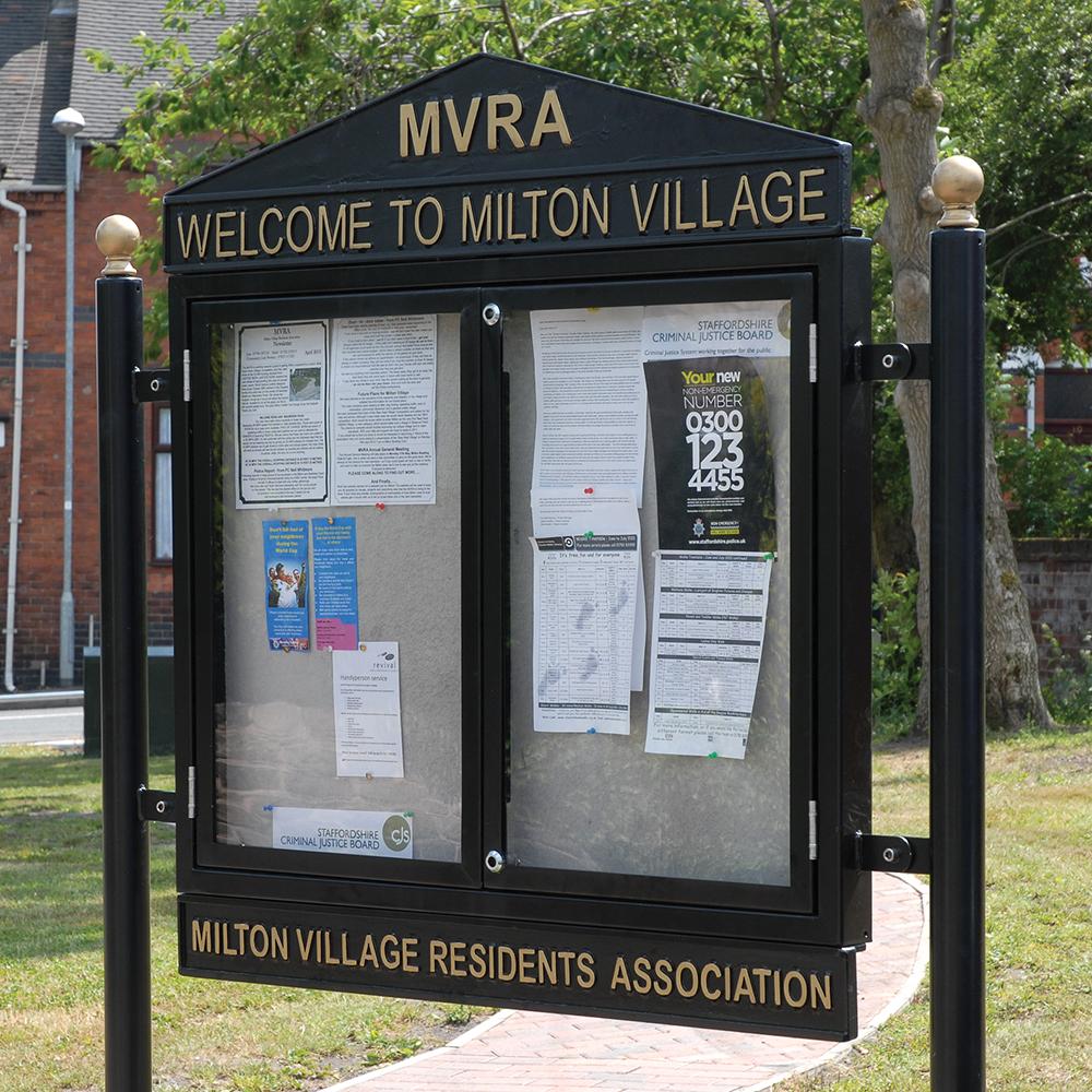 Milton Display Case
