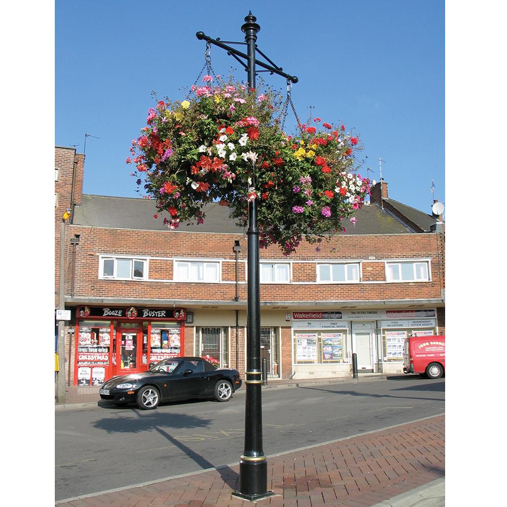 Standard Column Flower Basket Bracket