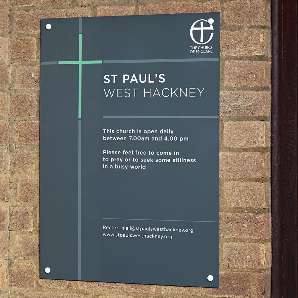 St Paul's Signs