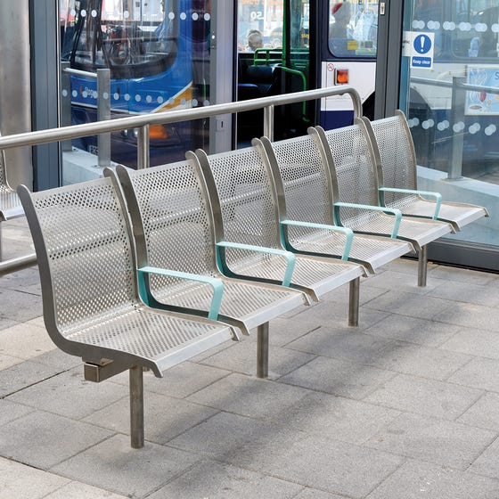 Ilford Seat - Stainless Steel