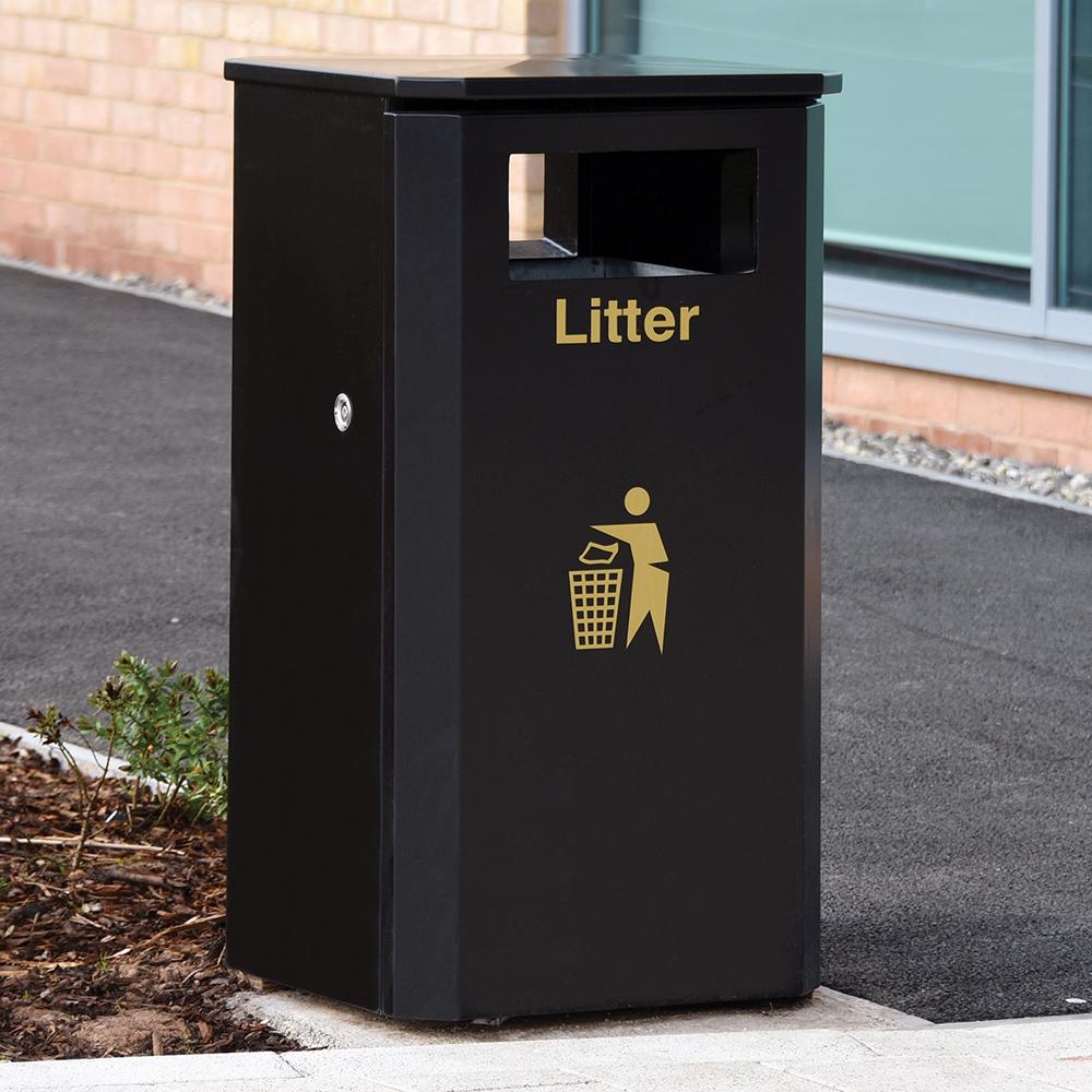 Eco Steel Litter Bin