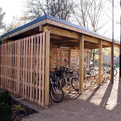 Sherwood Cycle Shelter