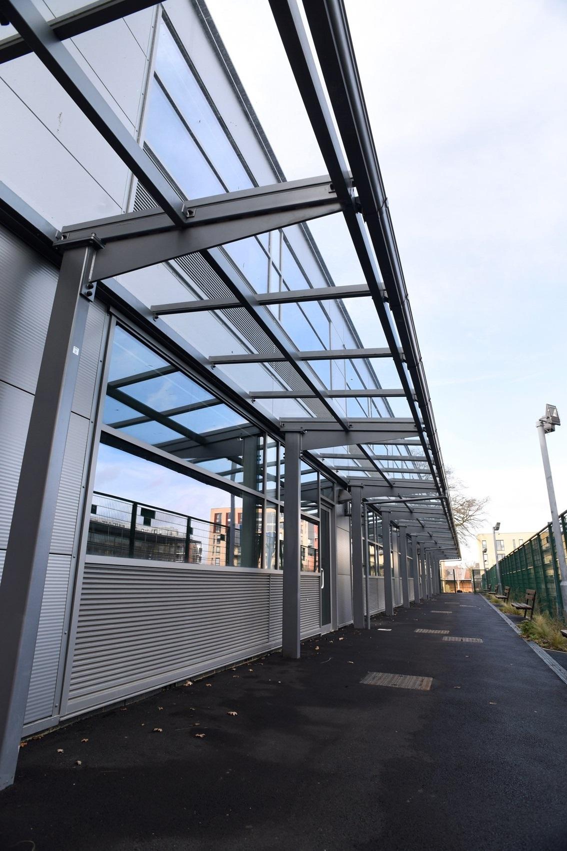 Academy Covered Walkway