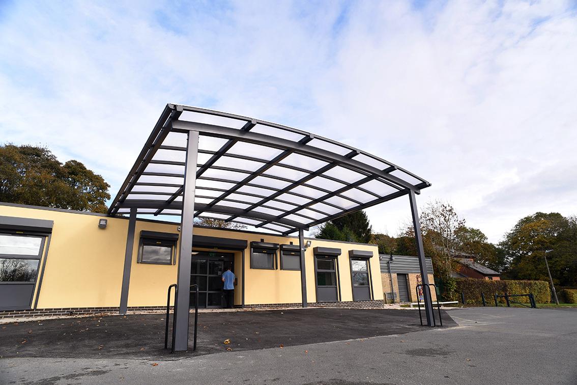 Newcastle Senior Entrance Canopy