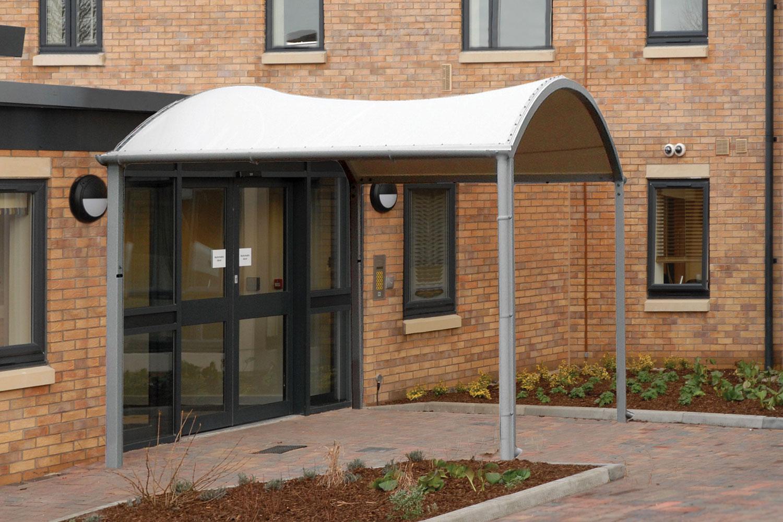 Fabric Arc Entrance Canopy