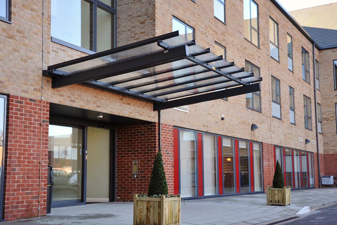 Baskeyfield Entrance Canopy