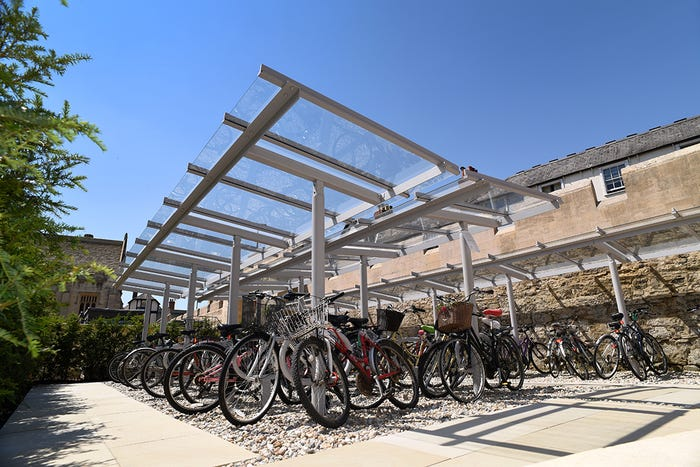 Magdalen Cycle Shelter