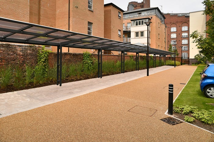 Coventry Cantilever Covered Walkway