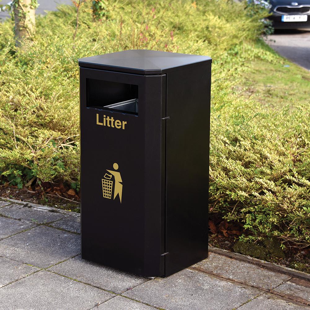 Derby Compact Litter Bin