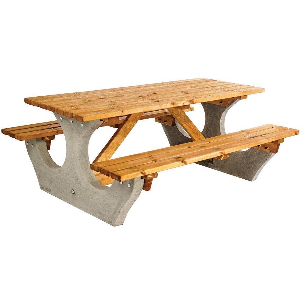 Pembroke Concrete & Timber Picnic Unit