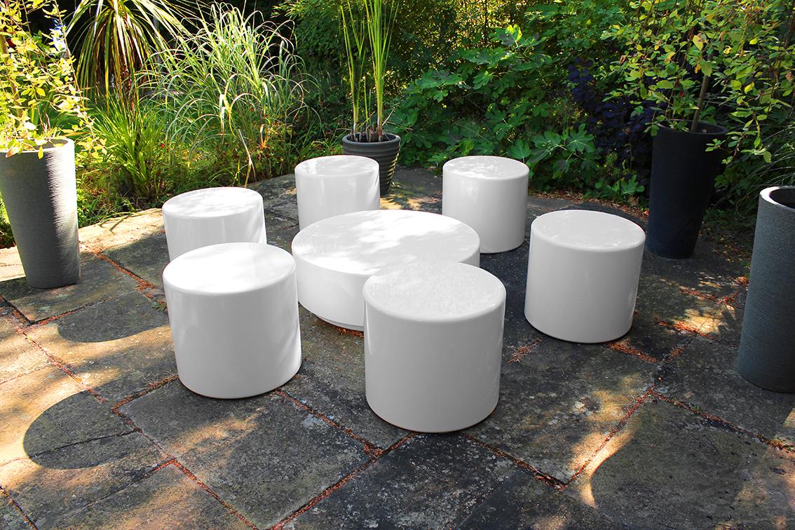 Drum Modular Coffee Table
