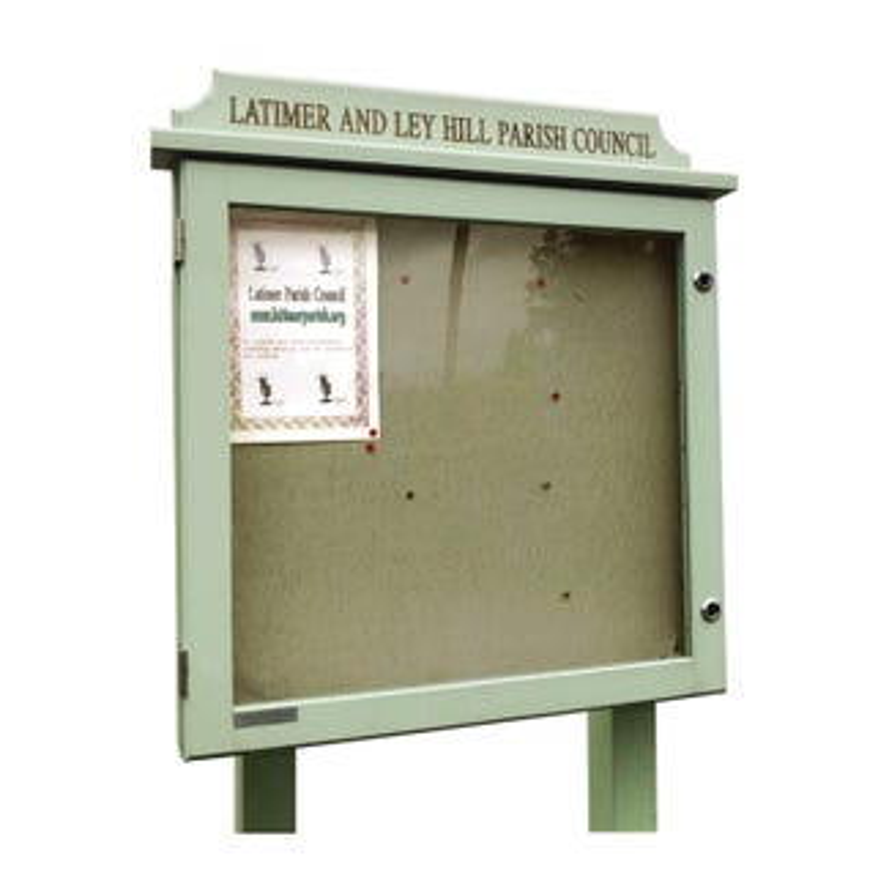 Oak Noticeboard (Displays 6 x A4 Sheets)