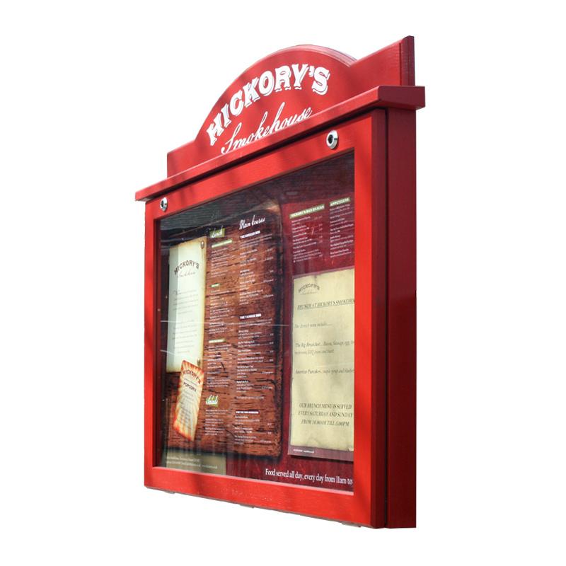Oak Noticeboard (Displays 8 x A4 Sheets)