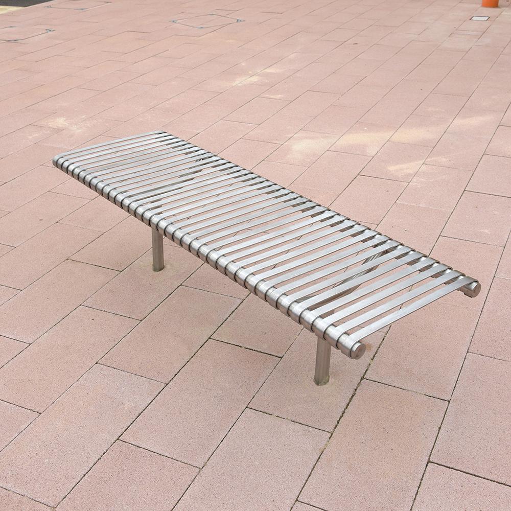 Weyburn Bench - Stainless Steel