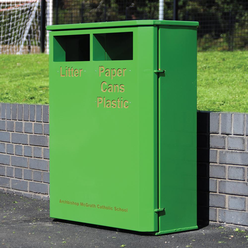 Derby Double E Slimline Recycling Bin