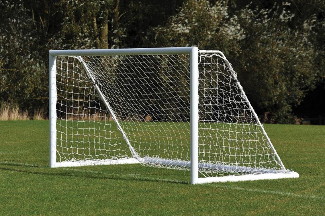 Freestanding Aluminium Mini Soccer Goals Package - 12' x 6'