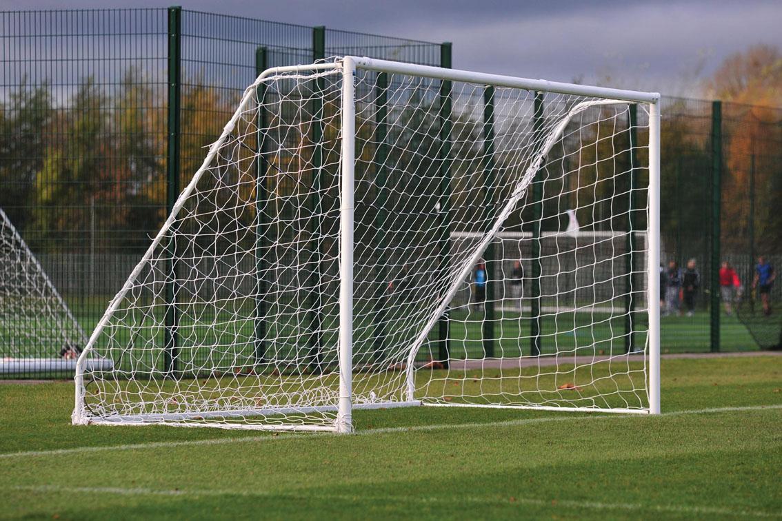Freestanding Heavyweight Football Goals Package - 16' x 6'