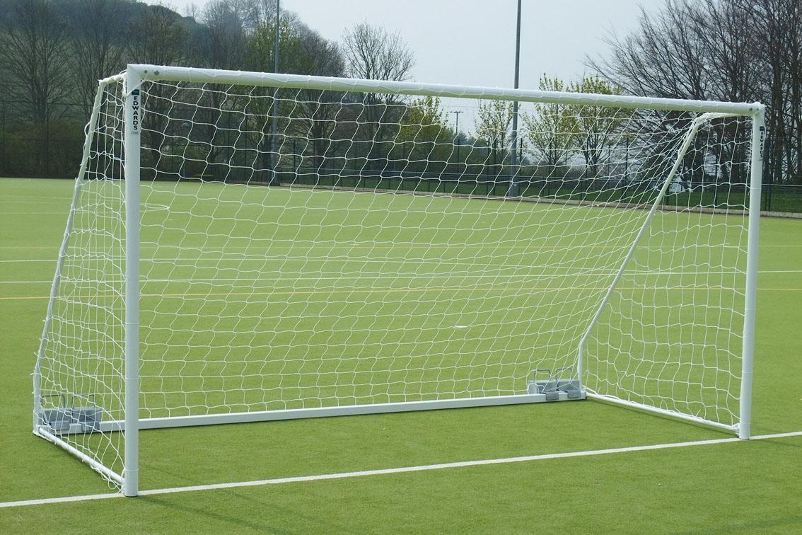 Freestanding Heavyweight Football Goal Posts - 12' x 6'