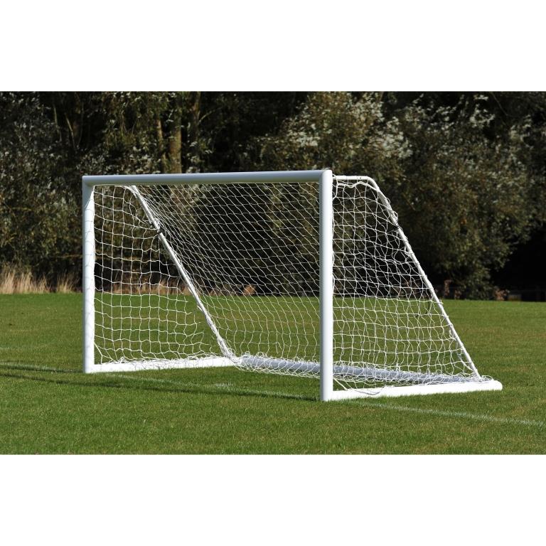 Elliptical Aluminium Freestanding Mini Soccer Goal Posts - 12' x 6'