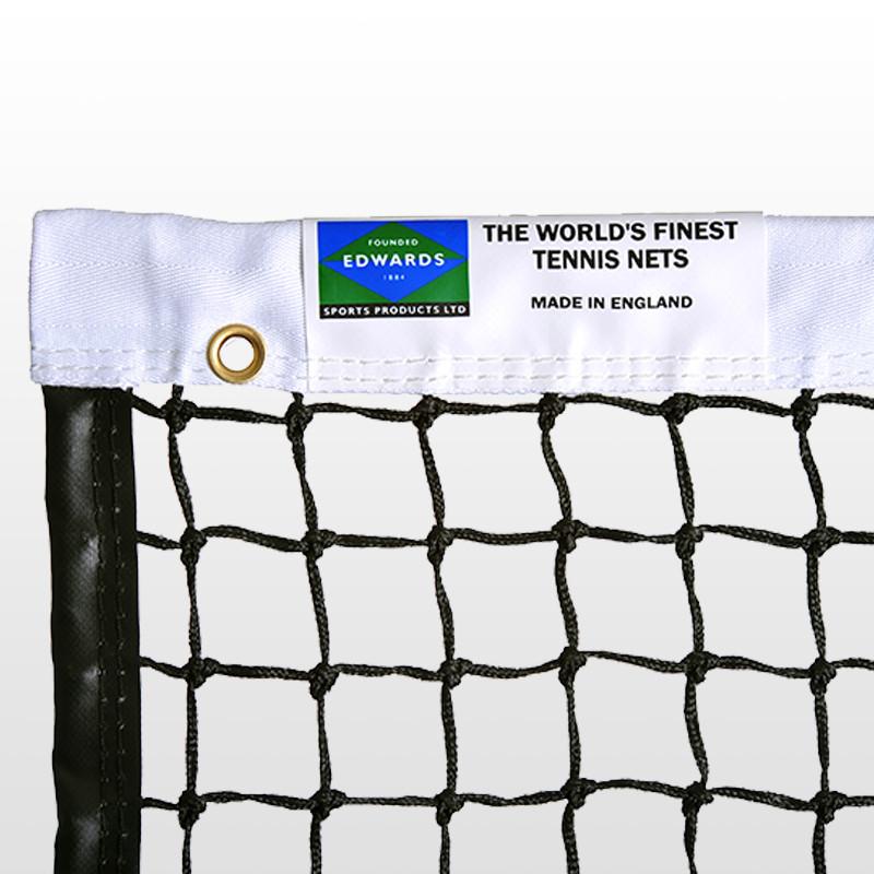 Edwards Championship Tennis Net 3.5mm with Polyester Headband