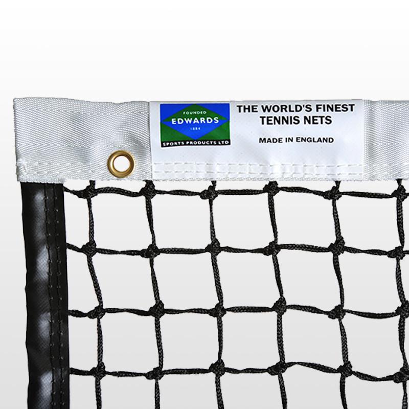 Edwards Championship Tennis Net 3.5mm with Premium Polyester Headband