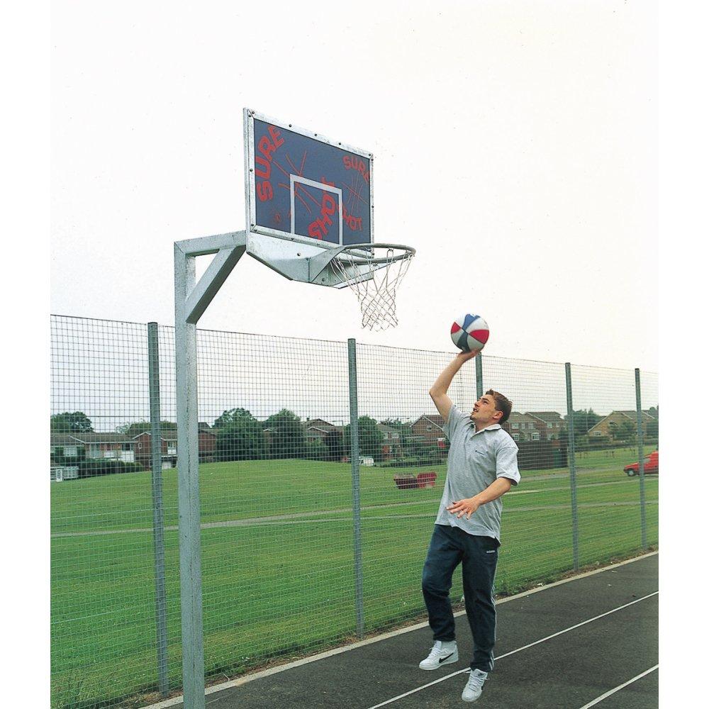Sure Shot Gladiator 670 Basketball Post