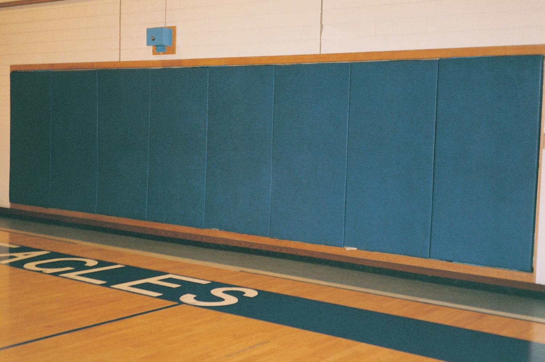 Basketball Back-Wall Padding