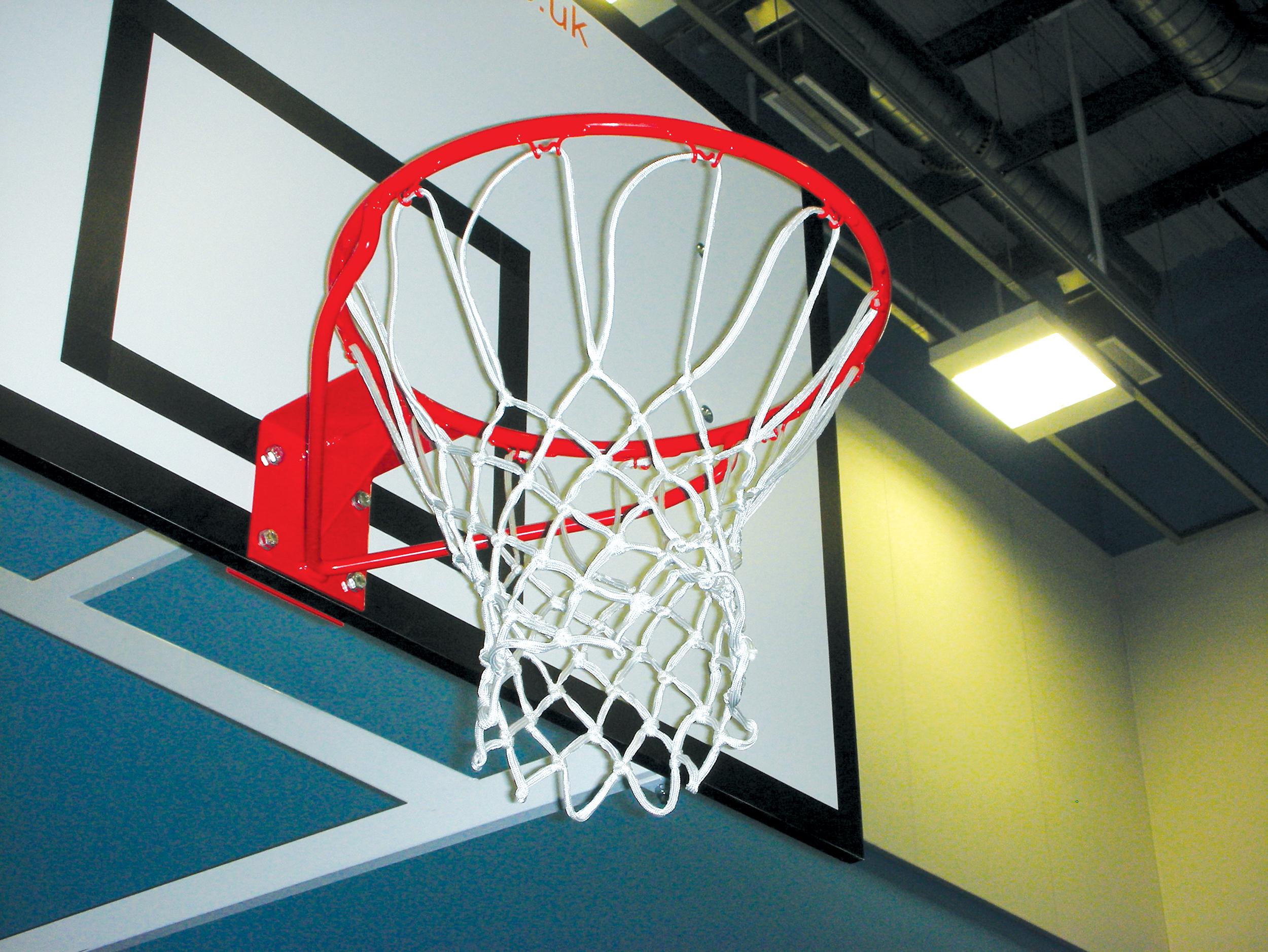 Solid Basketball Rings - Heavy Duty Goal