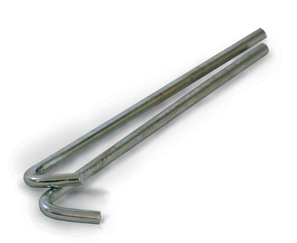 Cricket Ground Pegs - Round Steel Pegs (180mm x 5mm)