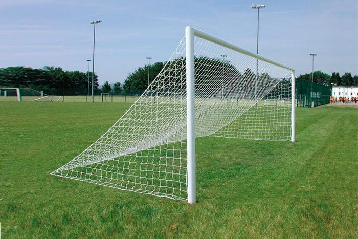 Quick Release Socketed Football Goals Package - 21' x 7'