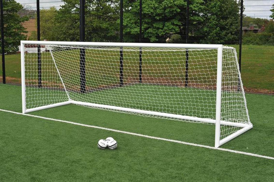 Quick Release Freestanding Football Goals Package - 24' x 8'