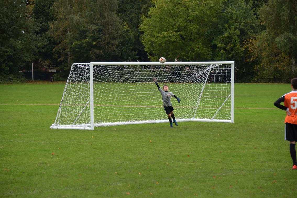 Quick Release Freestanding Football Goals Package - 21' x 7'
