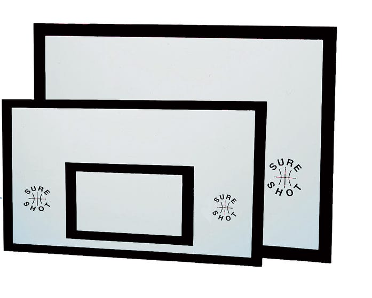 Indoor/Outdoor Wooden Basketball Backboards - Matchplay (1800mm x 1050mm x20mm)
