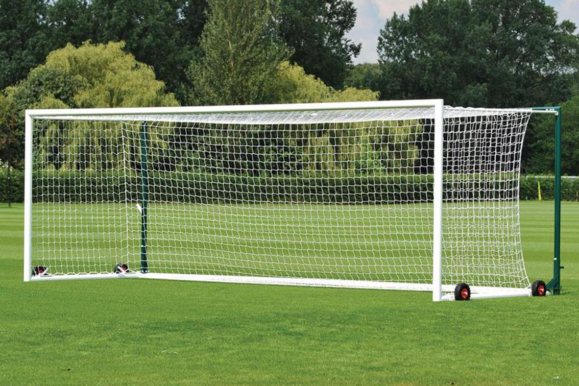 Freestanding Stadium Football Goals Package - 24' x 8'